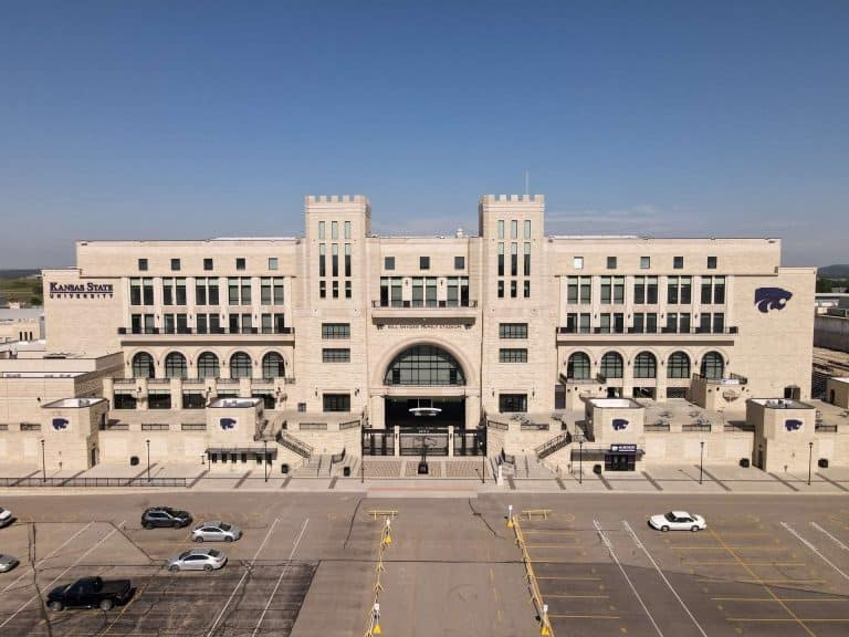Bill Snyder stadium drone photography by KAN Aerial